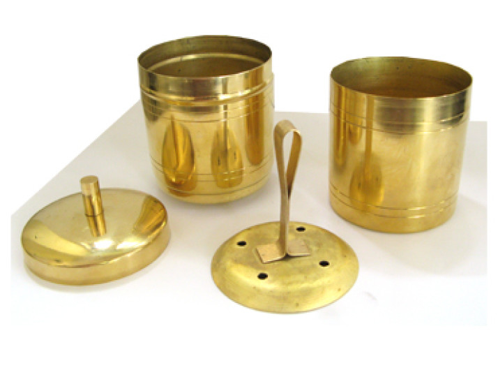 Indian Brass Coffee Filter Parts