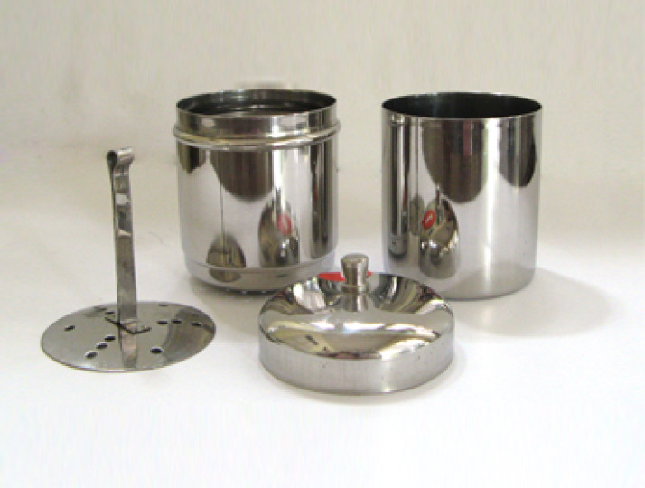 Indian Stainless Steel Coffee Filter Parts